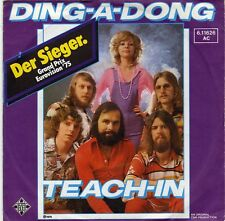 TEACH-IN DING-A-DONG GERMAN 45 SINGLE