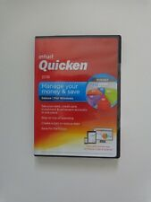 Intuit Quicken Deluxe 2016 For Windows (New!Factory sealed retail DVD case)