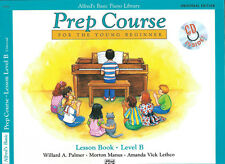 ALFREDS BASIC PIANO LIBRARY PREP COURSE FOR THE YOUNG BEGINNER LESSON LEVEL B