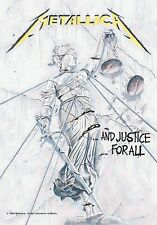 Metallica ...and Justice For All Flagge mehrfarbig