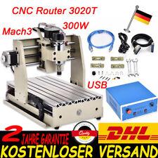 USB 3 ACHSE CNC Router 3020 Graviermaschine Gravurmaschine Fräsmaschine 300W VFD