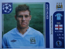 PANINI 49 James Milner Manchester City UEFA CL 2011/12