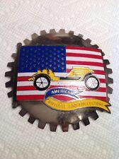 American Antique Car Collectors Grille Badge License Vintage Topper Car Club