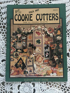 Quilted Rabbit Folk Art Cookie Cutter Appliquéd Project Book For All Seasons