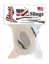 Rifle Sling Snow / White - 2 Point Gun Sling