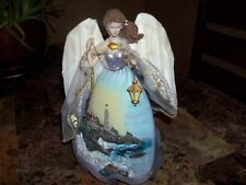 Thomas Kinkade-Ashton-Drake Galleries (Clearing Storms) Safe Harbor Angel