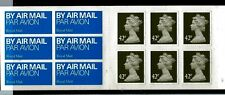 "Great Britain Royal Mail (6) 42 Pence Booklet Pane "" Bright & Fresh Nh """