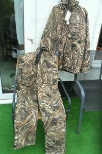 Prologic Max5 Comfort Thermo 2 Piece Suit Camo Size XL Carp Fishing