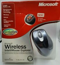 Microsoft Wireless Intellimouse Explorer w/Tilt Wheel Metallic Blue (M03-00039)