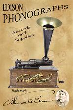 PHONOGRAPH hommage Edison