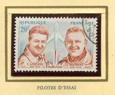 STAMP / TIMBRE FRANCE OBLITERE N° 1213 PILOTES D'ESSAI