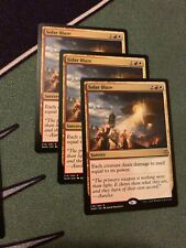 3x Solar Blaze-4x Law Rune Enforcer NM. Mtg- War Of The Spark