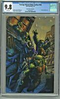 Teenage Mutant Ninja Turtles #100 CGC 9.8 Black Flag Comics Edition Virgin Cover