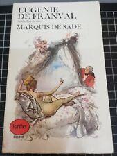 Eugenie de Franval & Other Stories by Marquis de Sade Vintage Panther