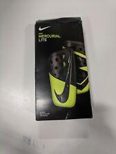 Nike Mercurial Elite Shin Guards Sz Small Black/Yellow