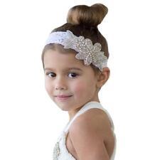Kid Girl Headbands Rhinestone Flower Hair Accessories For Girls Infant Hair Band