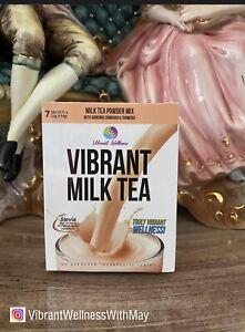 Lot Of 4 Vibrant Milk Tea, w/ Garcinia Cambogia, 7 Sachets In A Box