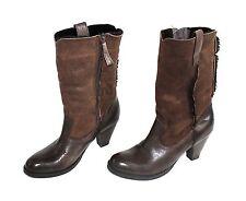 Buffalo wadenhohe Damen-Stiefel mit hohem Absatz (5-8 cm)