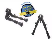 Tactical Rifle Gun AR Bipod OP SWAT Adjustable Mount Stand Dual Height Rail 223
