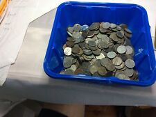 500 Circulated 1943 Steel Wheat Cent P/D mints Lot That's Approx.10 Rolls 47.5oz