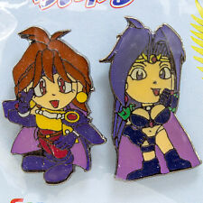 Slayers Royal Pins Set Lina Inverse & Naga JAPAN ANIME MANGA