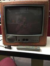 TÉLÉVISEUR DESIGN PHILIPPE STARCK  SABA  Avec Sa Télécommande 1994