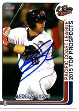 Andrew Susac 2015 Sacramento River Cats PCL Top Prospects Signed Card