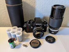 NIKON F3 HP Film Camera NIKON AI Nikkor 50mm f/1.4, Nikkor 80-200mm f/4.5, film