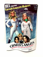 "Vintage 70's TV Hasbro 7"" Charlies Angels Farah Fawcett toy doll figure"