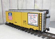 LGB / UNION PACIFIC BOX CAR - In Great Shape!