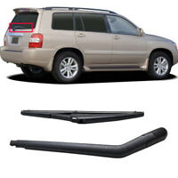 "12"" Rear Windshield Wiper Blade Arm Set For Toyota Highlander Kluger 2000-2007"