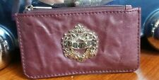 GUESS Metallic plum eggplant Purple Change Purse-holder-Pouch-club mini tiny bag