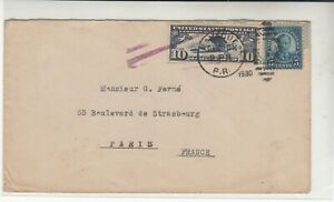 Puerto Rico / Airmail / France
