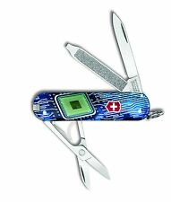 Victorinox Swiss Army Key Chain Knife Classic Ltd Ed - Electronic - Free Ship