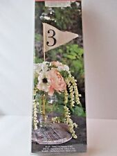 New Gartner Studios Linen Pennant Table Numbers 1-10 FREE SHIP wedding