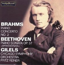 Brahms / Beethoven / - Piano Concerto No. 2 in B Flat Major / Piano Sonata Op. 5