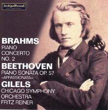 Brahms / Beethoven / - Piano Concerto No. 2 in B Flat Major / Piano Sonata Op. 5