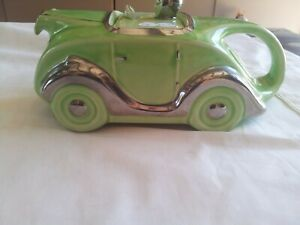 SADLER RACING CAR TEAPOT   OK T42