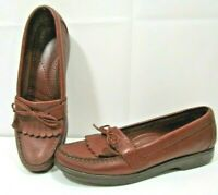 SAS Leather Loafers Brown Slip On Women's Size 7 1/2