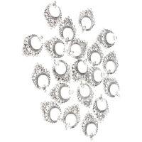 20pcs DIY Jewelry Making Findings Tibetan Earring Drop Chandelier 11 Loops