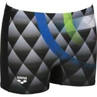 Arena Herren Badehose Bouncy Short schwarz blau
