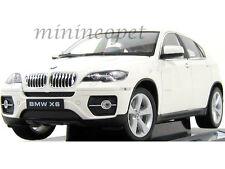 WELLY 18031W  BMW X6 SUV 1/18 DIECAST WHITE