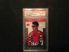 JEFF GORDON 1997 UD VICTORY CIRCLE PIECE OF THE ACTION FIRESUIT #FS1 PSA NM-MT 8