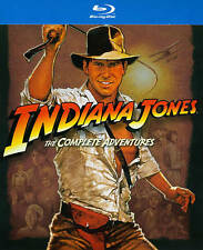 Indiana Jones - The Complete Adventure Collection (Blu-ray 2012, 5-Disc Set) ~!