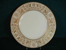Wedgwood Florentine White Rim Gold Dragons W4219 Salad Plate(s)