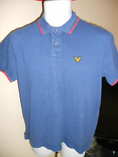 Blue Inc. - BLUE/RED POLO SHIRT SIZE SMALL