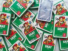 2 X Skat Spielkarten französisches Bild In Faltschachtel Von Ass Altenburger