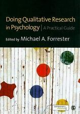 Doing Qualitative Research in Psychology : A Practical Guide (2010, Paperback)