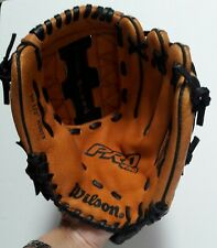 """Wilson Pro450 - A2479 -10.5"""" Baseball Glove - Blk/Brn Leather Right Hand Thrower"""