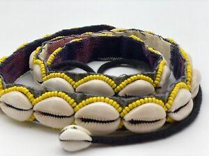 Handmade Retro Shell Belt Beaded Size M-L On Trending!